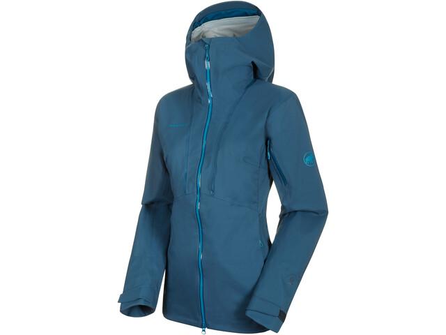 Mammut Haldigrat HS Hooded Jacket Women wing teal